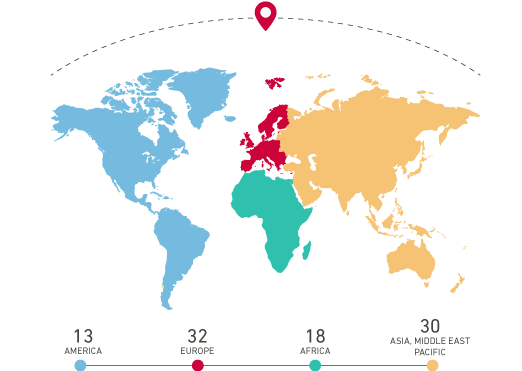 Worldwide Certification offices